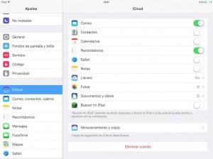 Una vez desactivado Buscar mi iPhone iPad iPod Touch podras restaurar el sistema